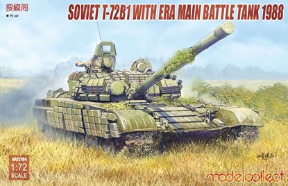 Picture of Soviet T-72B1 with ERA main battle tank 1988
