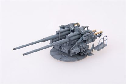 Picture of German WWII Flak40 128mm Zwillingsflak,1945