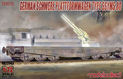 Picture of Germany Schwerer plattformwagen type ssyms 80