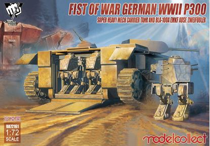 Picture of Fist of War Series German P300/2 PanzerKampfWagen und Träger