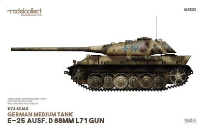 Picture of German Medium Tank E-25 Ausf.D 88mm L71 gun