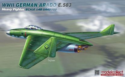 Picture of WWII German Arado E.583 Heavy Fighter Scale