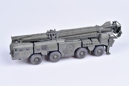 Picture of Soviet Army SCUD B Strategic missile launcher 1970s