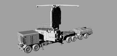 Modelcollect 1/72 BIG BIRD 64N6 radar news