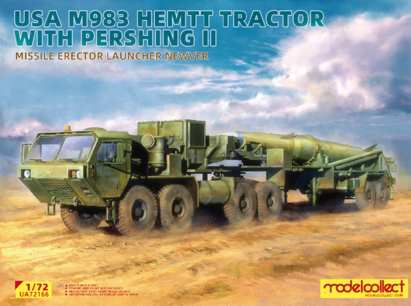 Picture of USA M983 Hemtt Tractor With Pershing II Missile Erector Launcher new Ver.